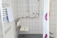 Wohnung 1 - Duschbereich